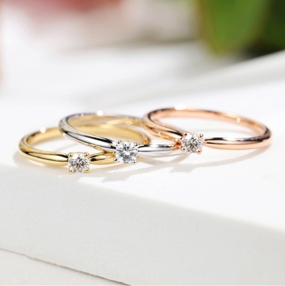 S1679 【今だけセール・数量1個】 女性 ファッション ゴールド スモール リング ジュエリー レディ―ス 指輪 アクセサリー_画像2