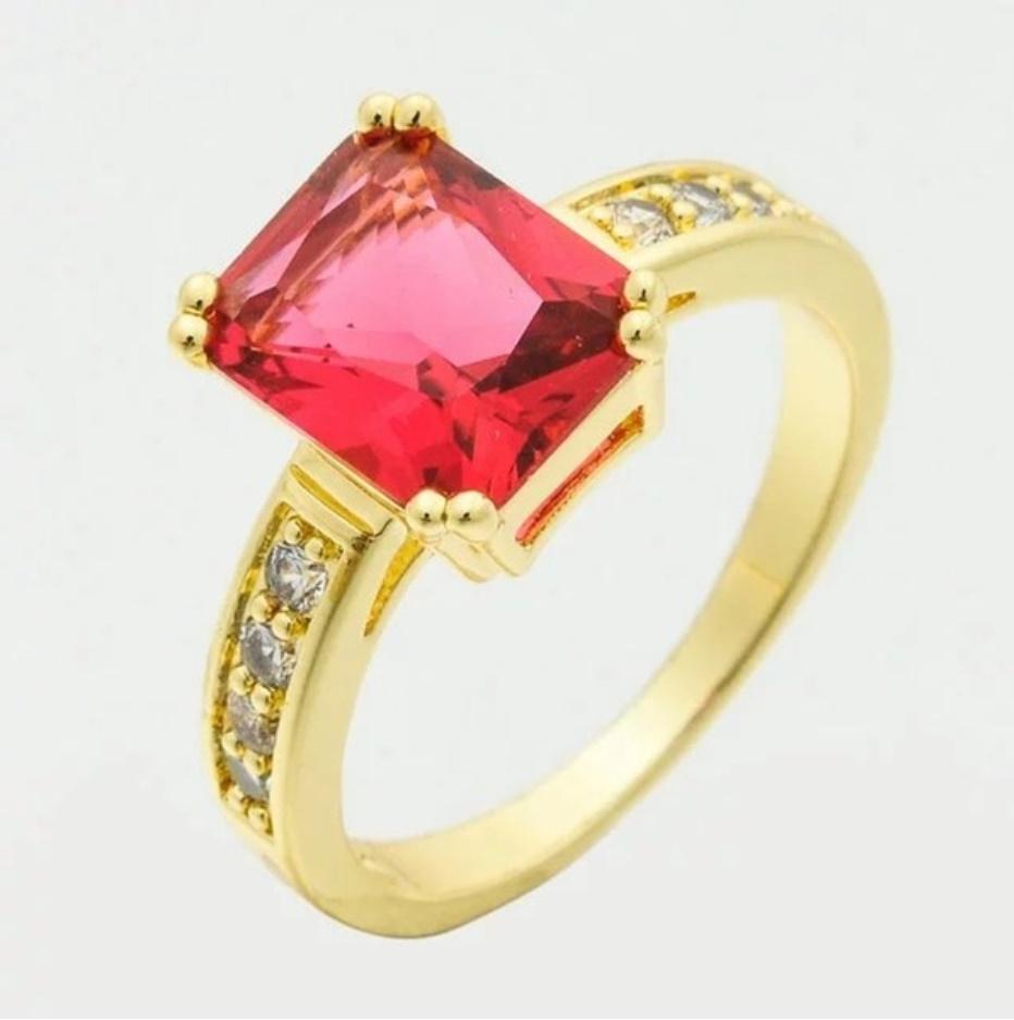 S1704 【今だけセール】 イエローゴールド リング 女性 指輪 レディ―ス ファッション アクセサリー ジュエリー_画像9