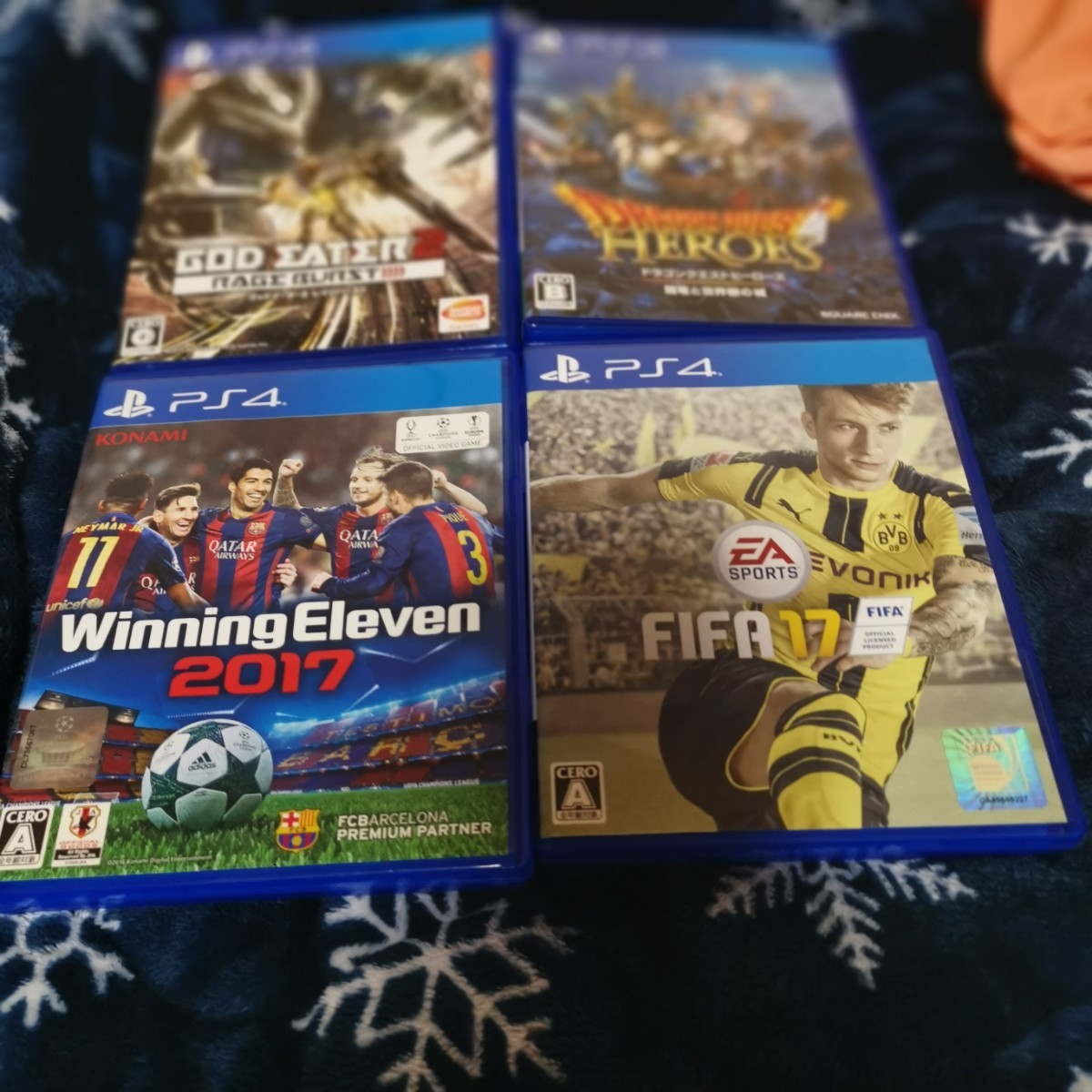 PS4ソフトセット