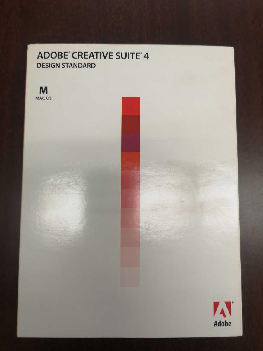 【MAC】ADOBE CREATIVE SUITE CS4 DESIGN STANDARD【InDesign Photoshop Illustrator Acrobat Pro】_画像2