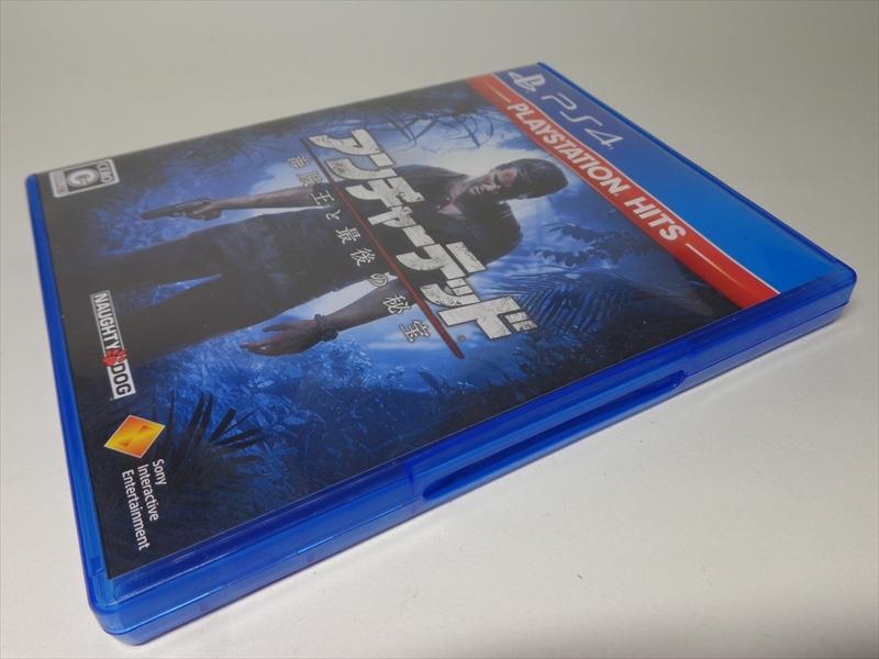 ★ PS4 ★ アンチャーテッド 海賊王と最後の秘宝 名作! PLAYSTATION4 ソフト