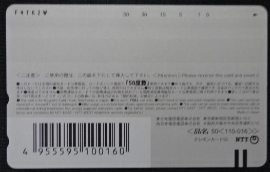テレホンカード スザンヌ 週刊プレイボーイ 9.22 no38 未使用 50度数 テレカ ランクS t-766_画像2