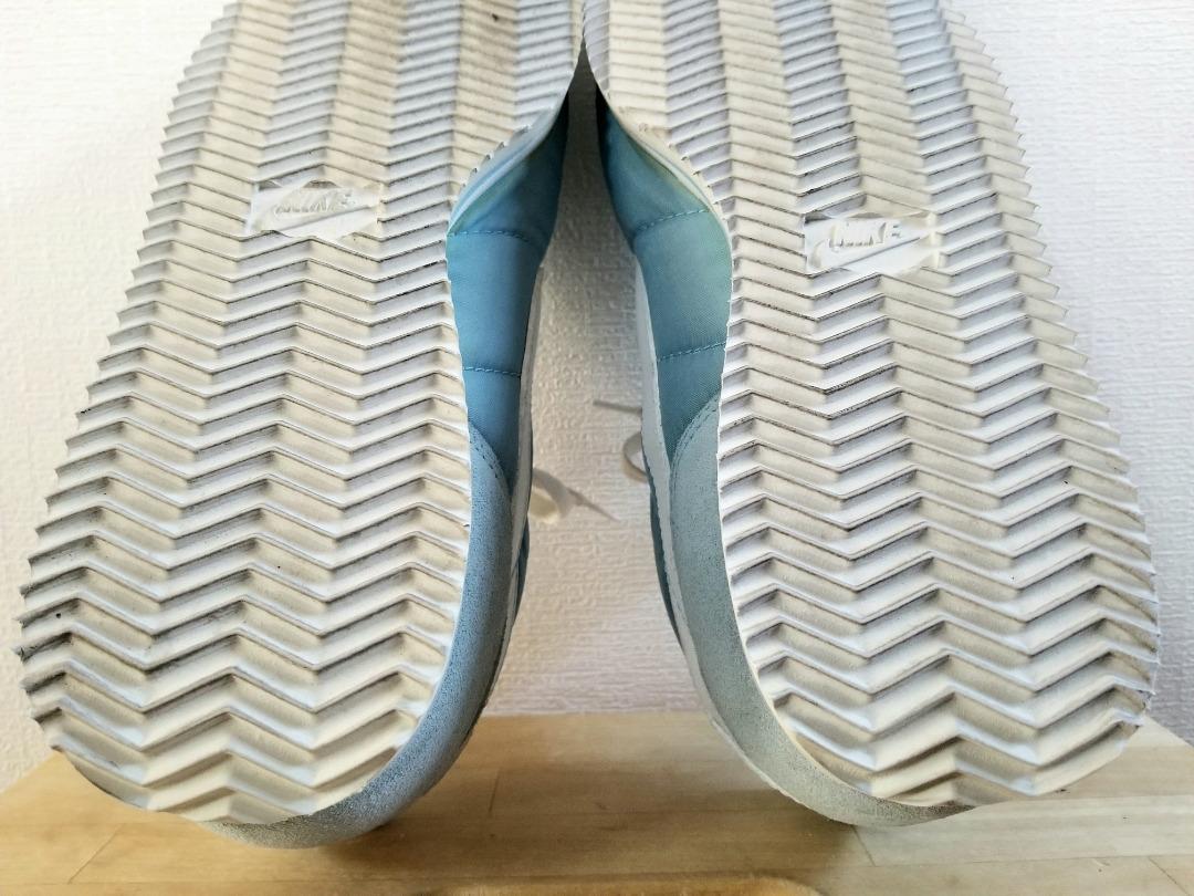 即決で送料無料 希少 新品デッドストック 90s 97年製 NIKE NYLON CORTEZ ナイキ ナイロンコルテッツ 青 白 US10 28cm 90年代 ビンテージ_画像9