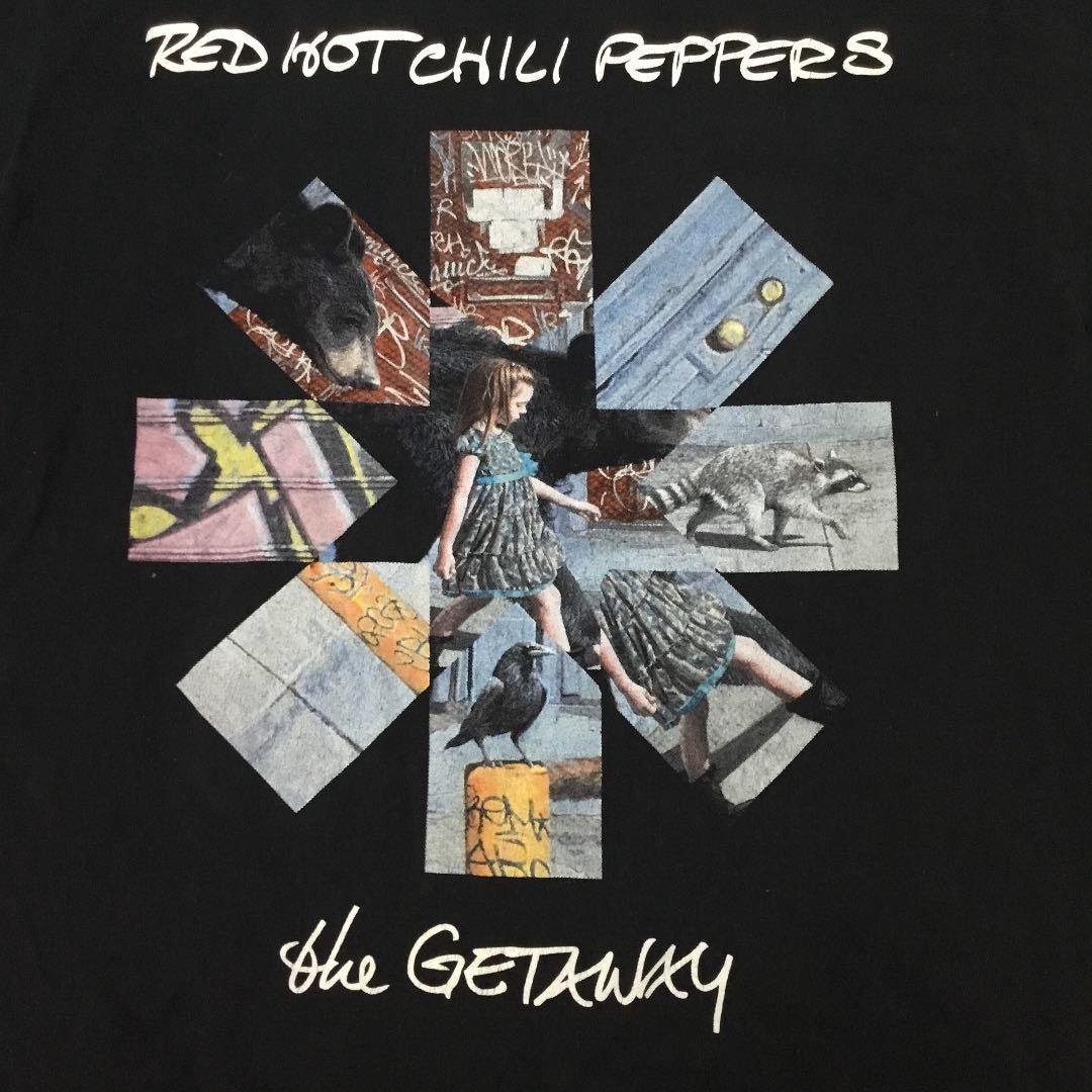 古着 バンドデザインプリントTシャツ Lサイズ レッドホットチリペッパーズ RED HOT CHILI PEPPERS レッチリ RHCP SR5B1