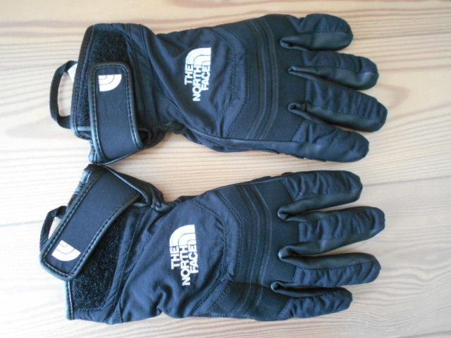 3回使用のみ ノースフェイス 合成皮革の薄手スノーグローブ スキーグローブ スノーボードグローブ Sサイズ _画像1