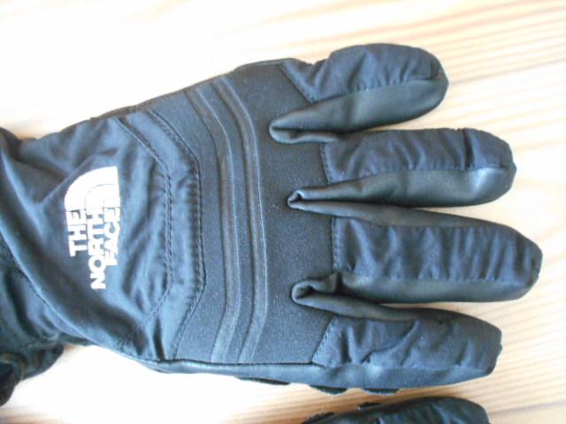 3回使用のみ ノースフェイス 合成皮革の薄手スノーグローブ スキーグローブ スノーボードグローブ Sサイズ _画像2