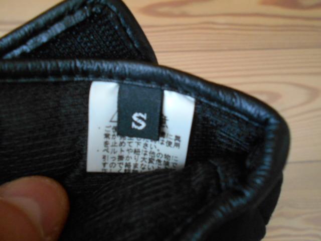 3回使用のみ ノースフェイス 合成皮革の薄手スノーグローブ スキーグローブ スノーボードグローブ Sサイズ _画像8