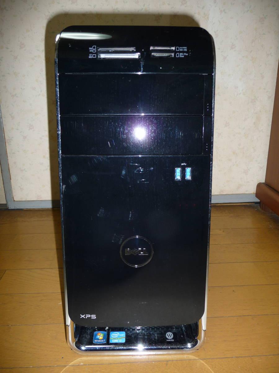 送料無料 XPS8500 WIN10 64ビット Core i7 3770 メモリー16GB SSD240GB新品バルク HDD1TB 1