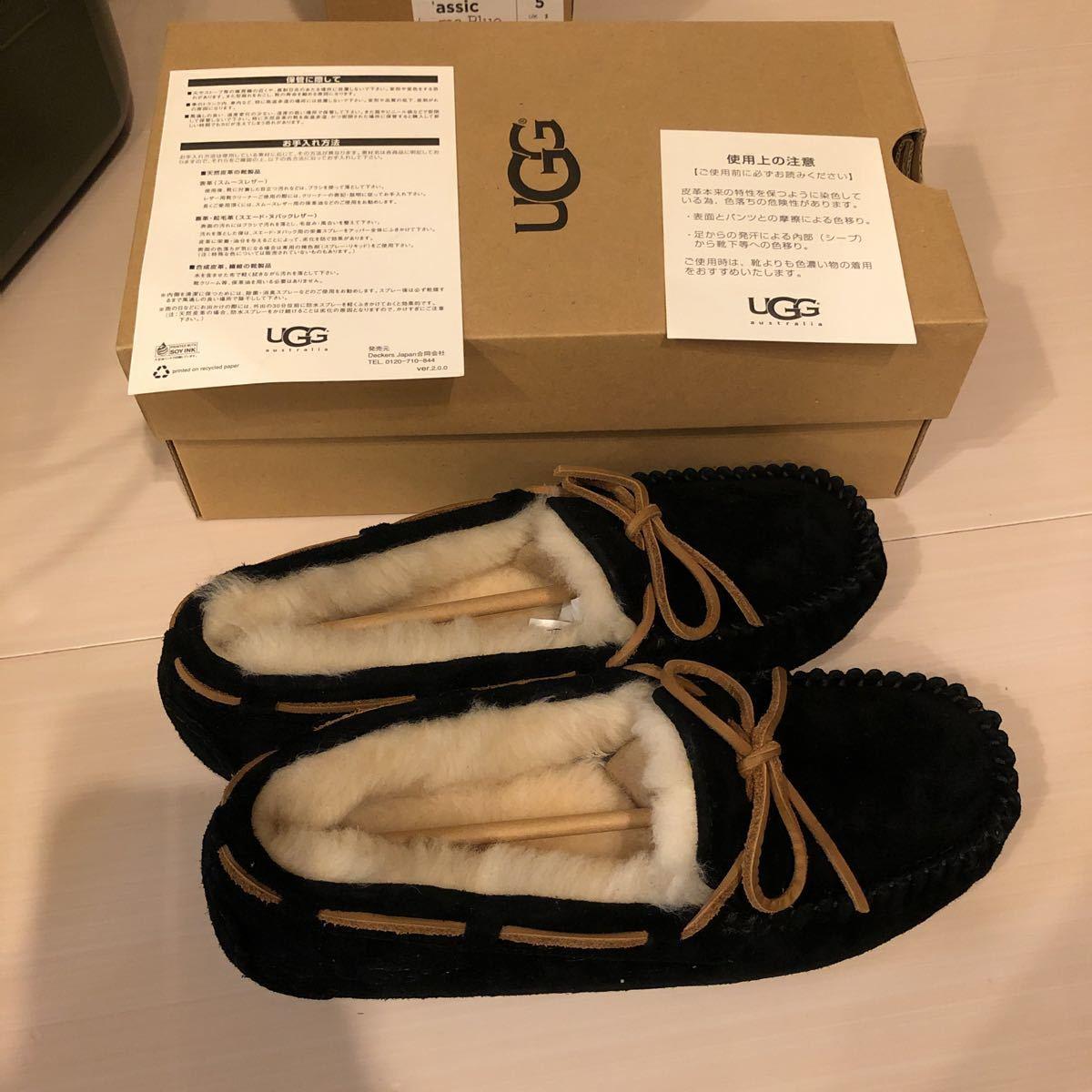 新品 UGG アグ DAKOTA ダコタ ブラック 黒 5612 シューズ 靴 レディース 23.0cm