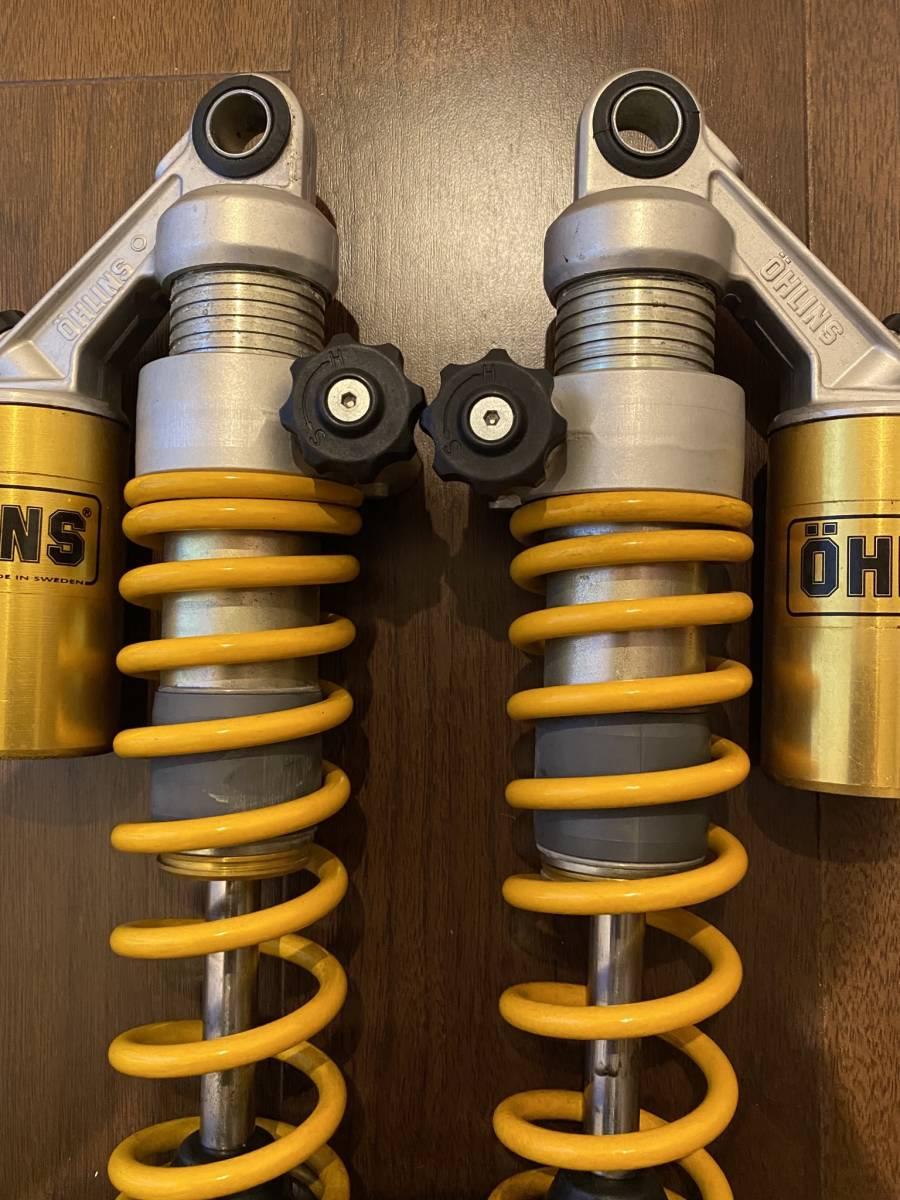 OHLINS オーリンズ HO5060 CB750F/CB900F/CB1100F リアショック 車高調 イエロー_画像3