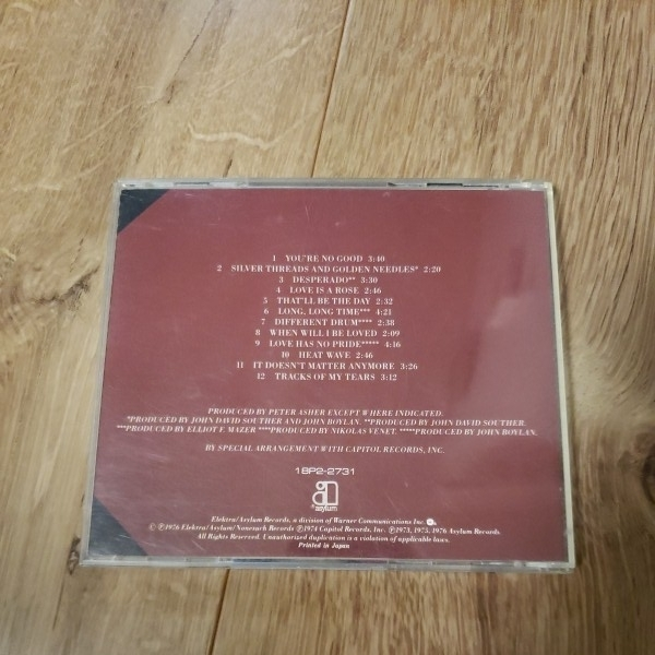 【CD】 LINDA RONSTADT/リンダ・ロンシュタット/ グレイテスト・ヒッツ LINDA RONSTADT Greatest Hits