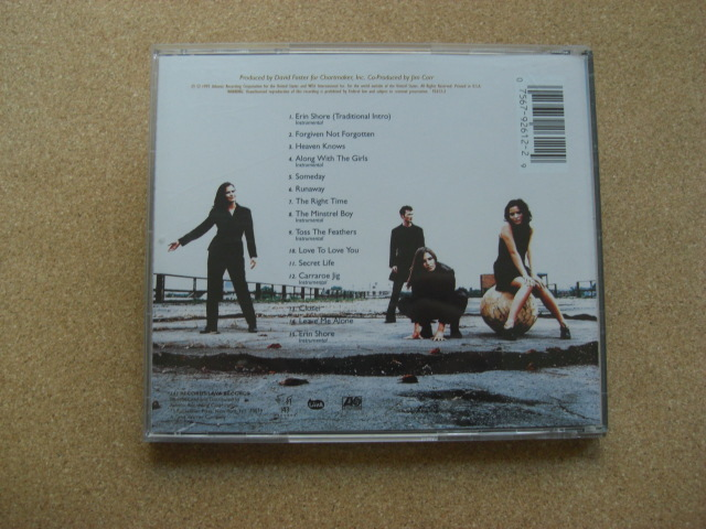 *The Corrs/Forgiven, Not Forgotten (92612-2)(輸入盤)_画像3