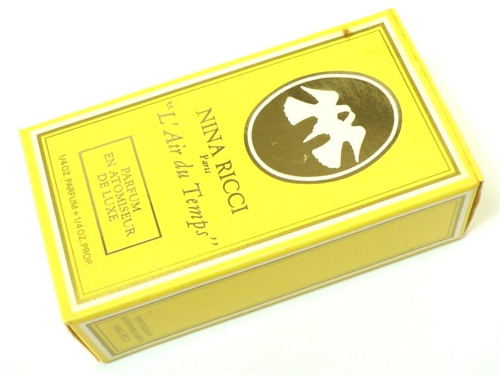 未使用 保管品 NINA RICCI ニナリッチ L' Air du Temps レールデュタン 13mL 香水 アトマイザー 鳩 箱 PARFUMS パルファム ダイアナ元妃_画像7