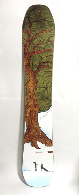 OUTFLOWsnowboards BigTree 158 DKC Graphic / 2008-2009 モデル  新品!! デッドストック!!