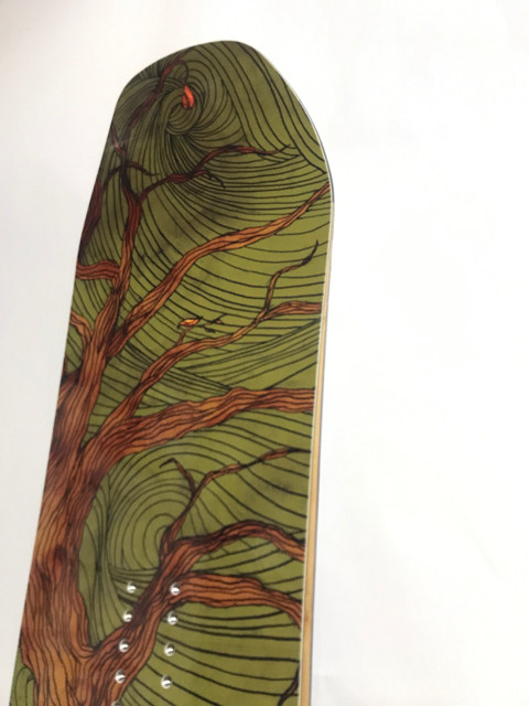 OUTFLOWsnowboards BigTree 158 DKC Graphic / 2008-2009 モデル  新品!! デッドストック!!_画像4