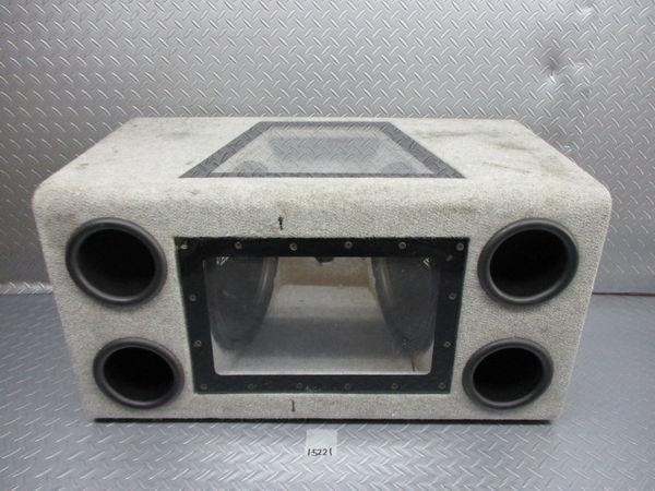 WR Sound System WRサウンドシステム ウーハー ウーファー ボックス 汎用 即納 ジャンク_画像1