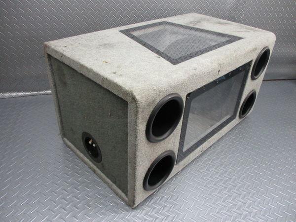 WR Sound System WRサウンドシステム ウーハー ウーファー ボックス 汎用 即納 ジャンク_画像7