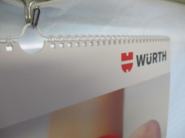 WURTH ウルト 2020 カレンダー ポスター 壁掛け 非売品 新品 未使用_画像4