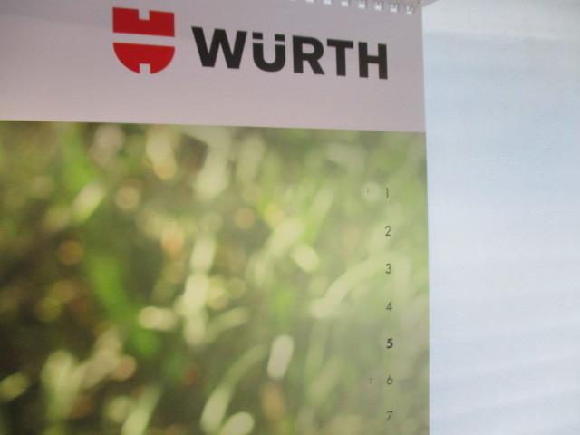 WURTH ウルト 2020 カレンダー ポスター 壁掛け 非売品 新品 未使用_画像5