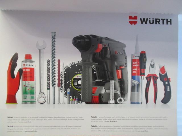 WURTH ウルト 2020 カレンダー ポスター 壁掛け 非売品 新品 未使用_画像6