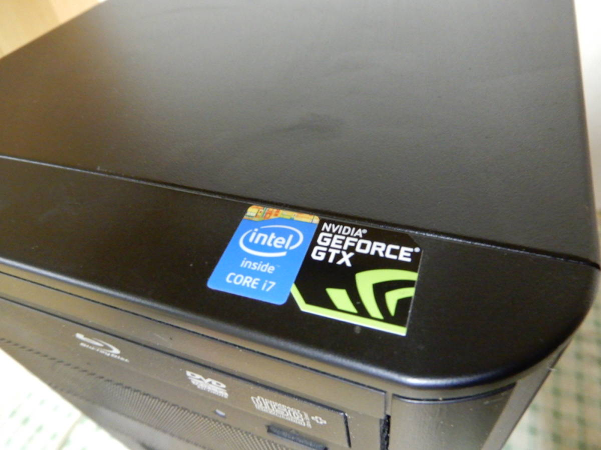 Diginnos GALLERIA Core i7-4790 16GB デスクトップPC ジャンク品 _画像3
