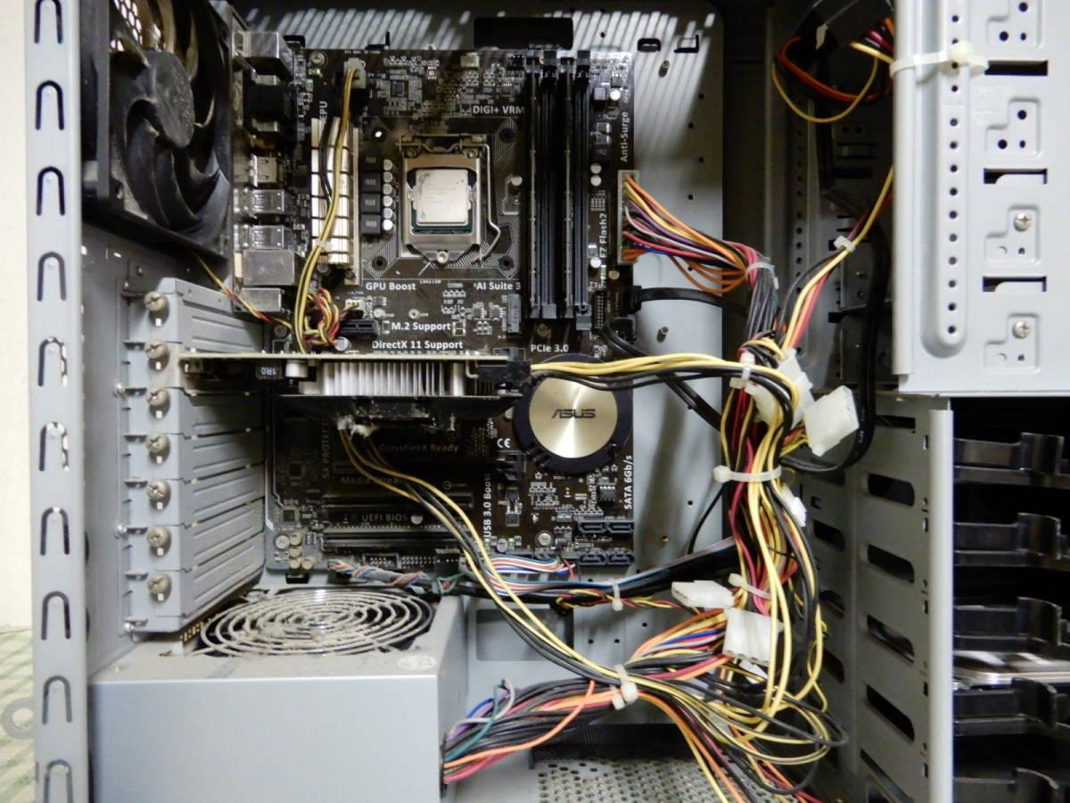 Diginnos GALLERIA Core i7-4790 16GB デスクトップPC ジャンク品 _画像6