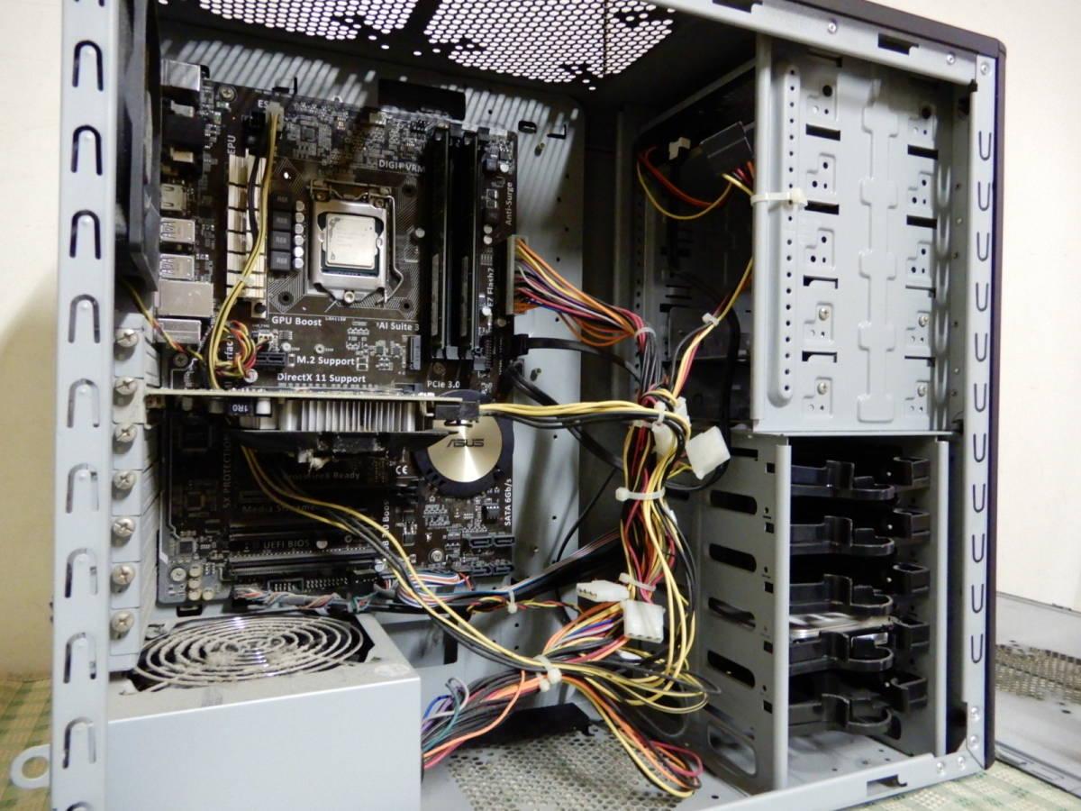 Diginnos GALLERIA Core i7-4790 16GB デスクトップPC ジャンク品 _画像7