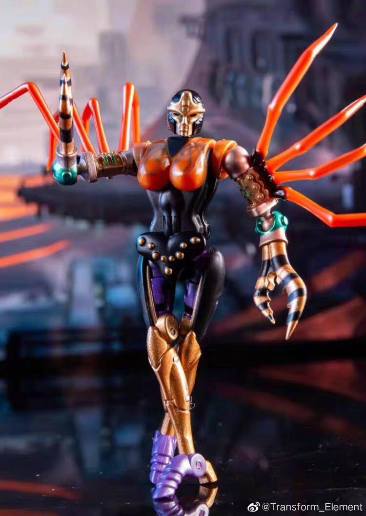 新品Transxform Elemxent BW MM001 蜘蛛 変形ロボット toys_画像2