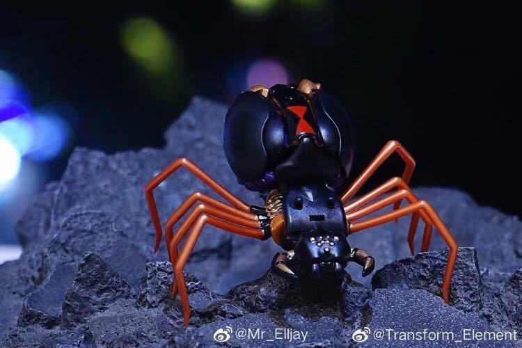 新品Transxform Elemxent BW MM001 蜘蛛 変形ロボット toys_画像4
