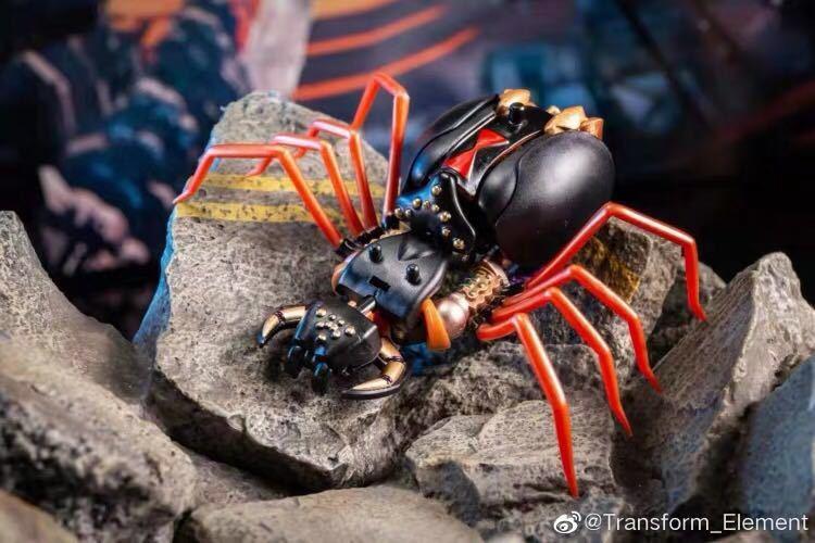 新品Transxform Elemxent BW MM001 蜘蛛 変形ロボット toys_画像3