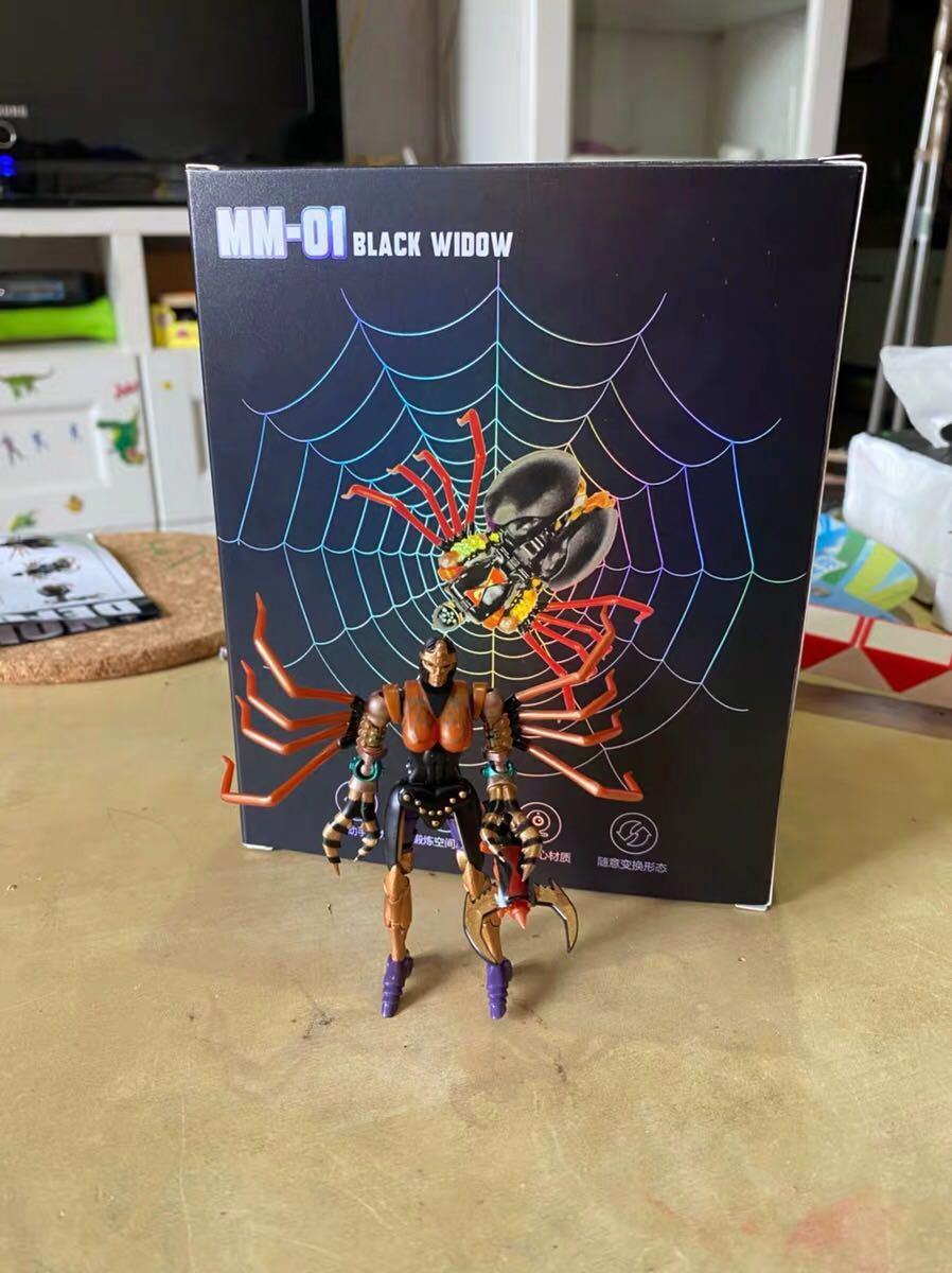 新品Transxform Elemxent BW MM001 蜘蛛 変形ロボット toys_画像5