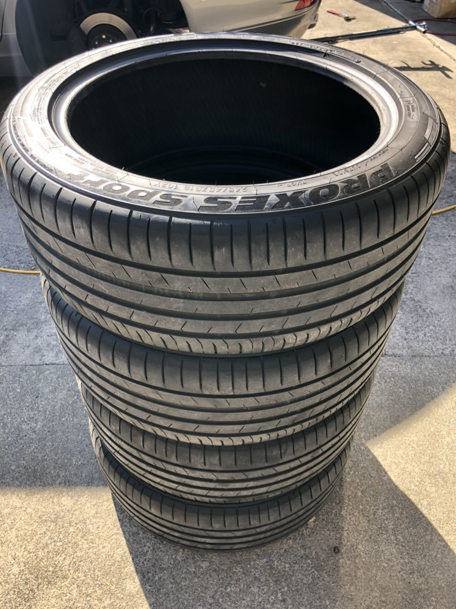 TOYO PROXES SPORT 245/45R19 102Yトーヨー プロクセススポーツ 4本 2017年製