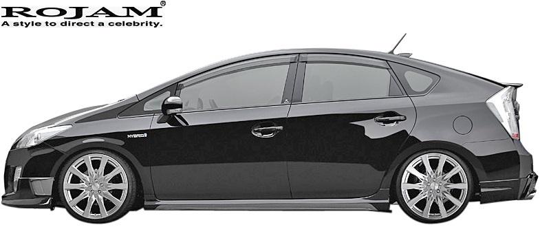 【M's】トヨタ 30系 プリウス 前期/後期 (2009/5-2015/12) ROJAM IRT ルーフスポイラー//PRIUS ZVW30 FRP ロジャム エアロ パーツ_画像4