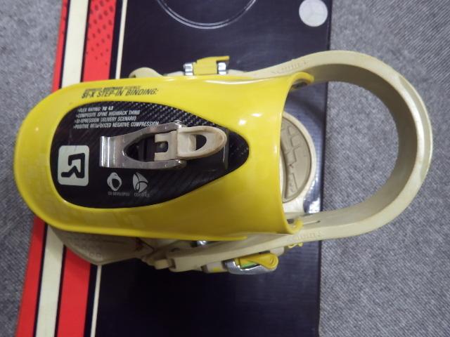 124【S.R】PALMER SNOWBOARDS 151 バインディング付スノーボード板 香川発_画像3