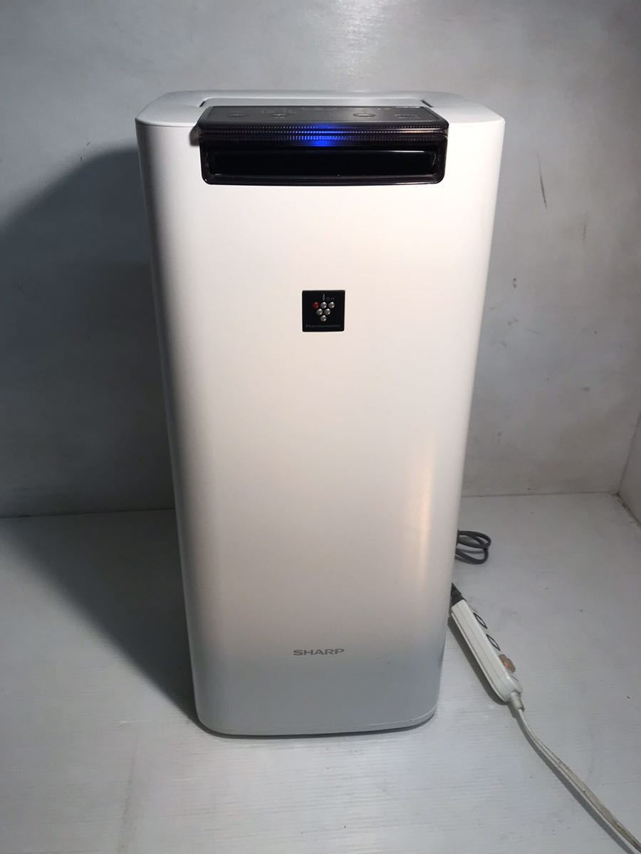 @SHARP プラズマクラスター 加湿空気清浄機 空気清浄 空気清浄機 KI-HS40-W 2018年製_画像1