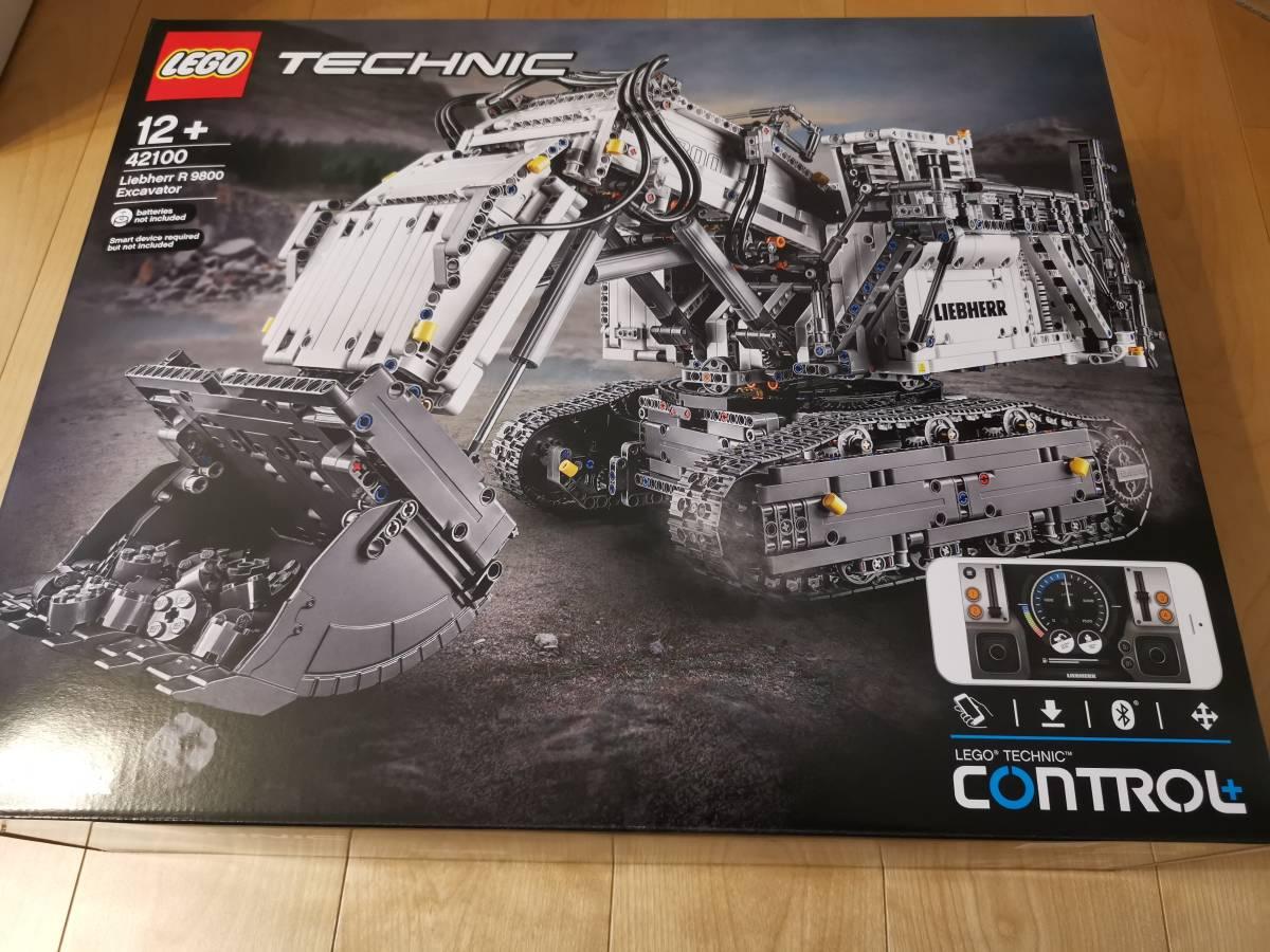 送料無料 新品 正規品 レゴ テクニック LEGO TECHNIC リープヘル R 9800 ショベル 42100 Liebherr R9800 Excavator