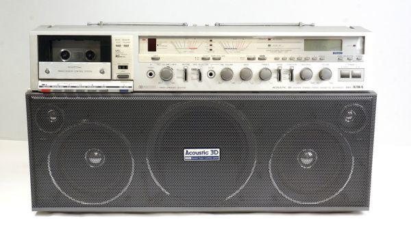 AIWA 2BAND STEREO RADIO CASSETTE RECORDER CS-J88 アイワ ラジカセ カセットレコーダー