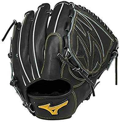 野球 ミズノ ミズノプロ 硬式グローブ 投手用 ブラック サイズ:10 定価¥60,500(税込)_画像1