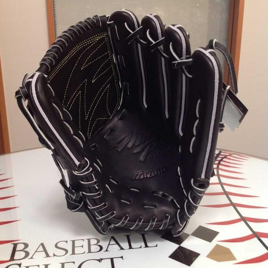 野球 ミズノ ミズノプロ 硬式グローブ 投手用 ブラック サイズ:10 定価¥60,500(税込)_画像4