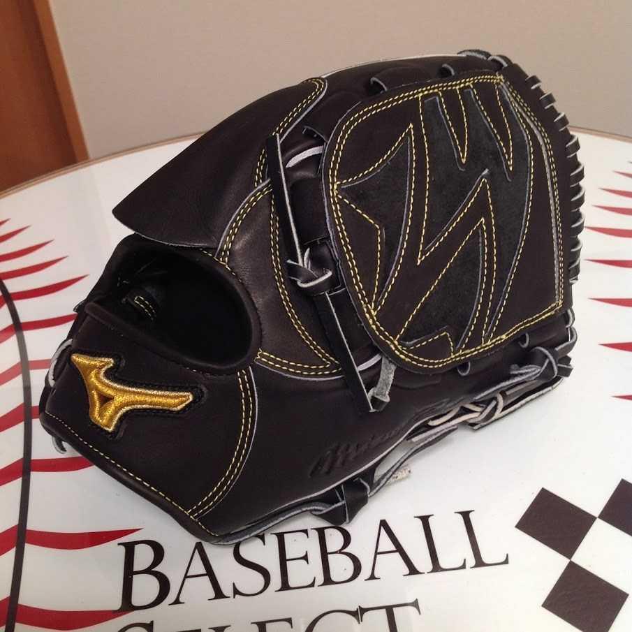 野球 ミズノ ミズノプロ 硬式グローブ 投手用 ブラック サイズ:10 定価¥60,500(税込)_画像2