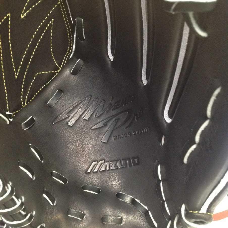 野球 ミズノ ミズノプロ 硬式グローブ 投手用 ブラック サイズ:10 定価¥60,500(税込)_画像6
