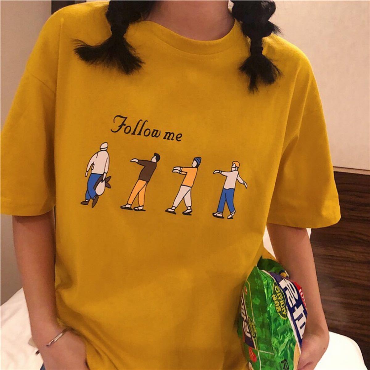 半袖Tシャツ ビッグシルエット プリント Tシャツ トップス レディース メンズ