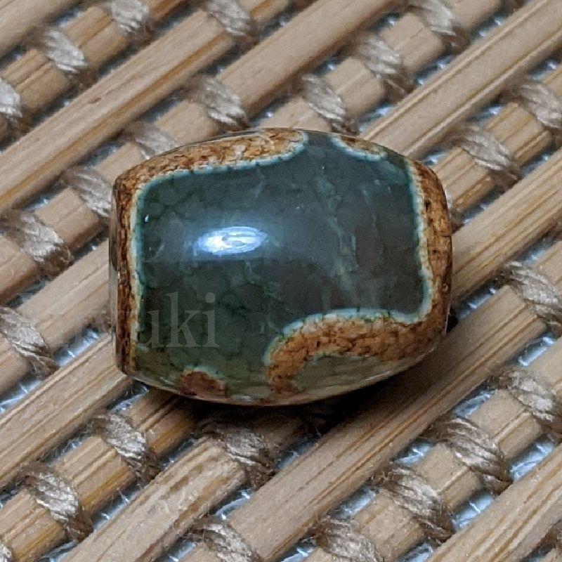 御幸天珠 F02312 宝瓶天珠 15x13mm 龍紋天珠 賽瓶天珠_画像8