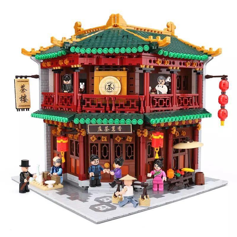 LEGO互換 中国茶室_画像1