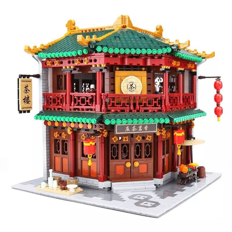 LEGO互換 中国茶室_画像2