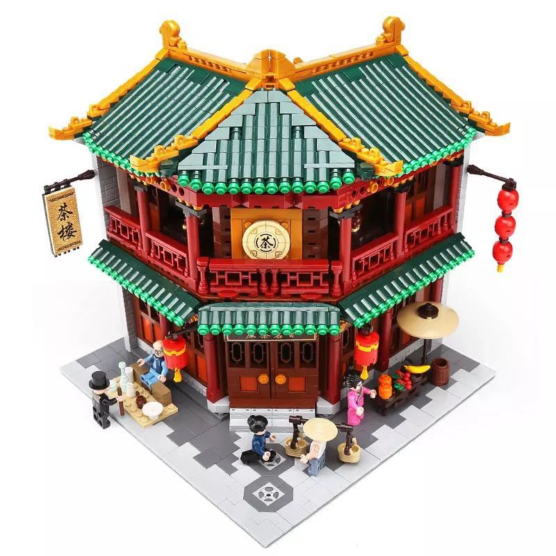 LEGO互換 中国茶室_画像3
