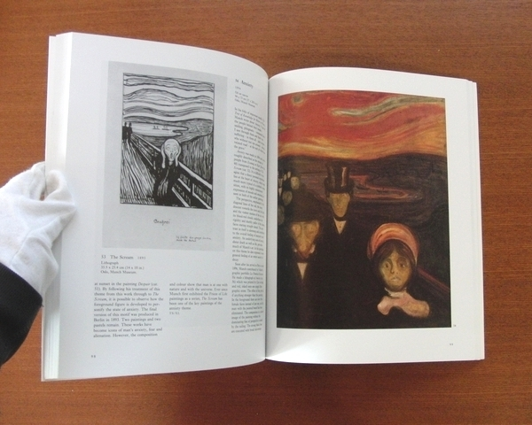 ムンク 作品集■図録 美術手帖 芸術新潮 和楽 太陽 版画 Edvard Munch The Frieze of Life_画像4