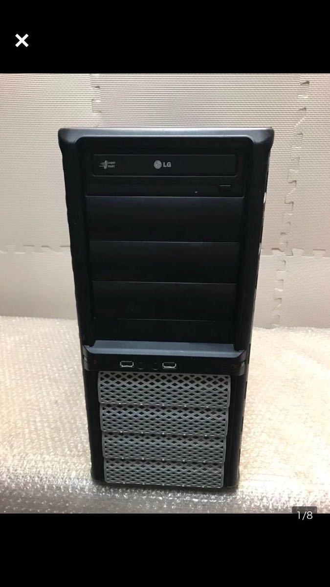 (72) corei7-3770 3.40GHZ メモリー2枚 パソコンPC ジャンク品