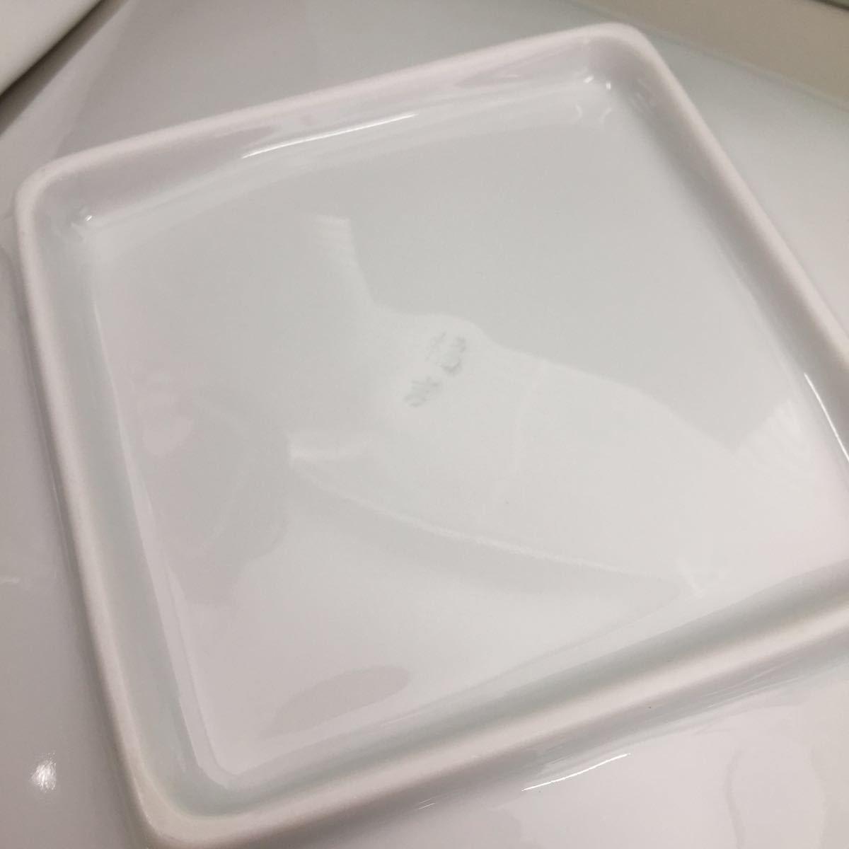 未使用 たち吉 釉 角皿 銘々皿 取り分け揃 箱入り 橘吉 和食器 小皿 自己保管_画像9
