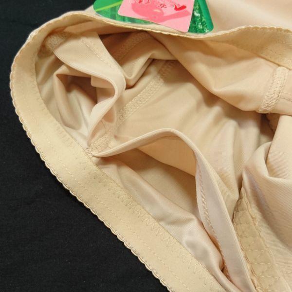 レディース:コスプレ補正インナーウェア2.5点SET【90C・M】シリコン人工乳房ポケットブラ+ヒップパッドショーツ☆匿名コンビニ受け取りOK_画像6